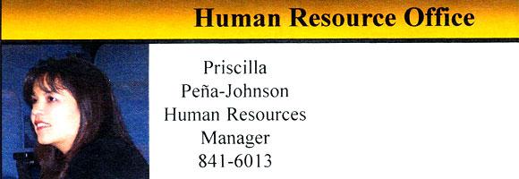 Priscilla Pena-Johnson, HR Director