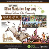 Koloa Plantation Days 2015: Poipu/Koloa festival on Kauai's sunny south shore